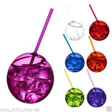 Decoración y menaje vasos de color principal transparente para mesas de fiesta
