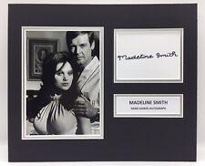 RARE Madeline Smith James Bond Signed Photo Display + COA AUTOGRAPH 007