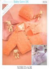 Conjunto Infantil #3 Cardigan Sombrero Botines patrón de Instrucciones Tejer Ann Norling #68