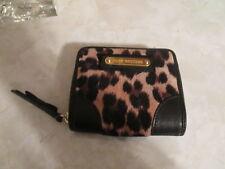 JUICY COUTURE Cheetah Print Wallet Zip closure NWOT