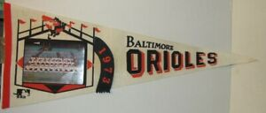 1973 Baltimore Orioles Photo Pennant