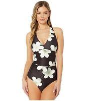 LAUREN RALPH LAUREN Women's 247507 Twist Back Halter One-Piece Swimsuit Size 8