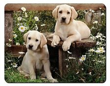 Yellow Labrador Puppies Computer Mouse Mat Christmas Gift Idea, AD-L50M