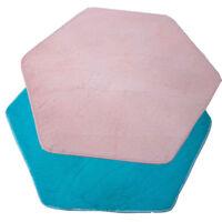 Kids Princess Castle Play Tent Hexagon Rug Carpet Children Room Soft Floor Mat