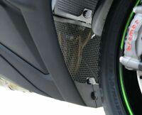 Kawasaki ZX10 R 2015 R&G Racing Downpipe Grille DG0003BK Black