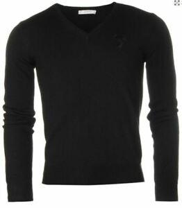 Versace Collection Medusa Head men's v-neck jumper size XL*