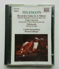 Telemann - Recorder Suite + Concertos MiniDisc Album MD Classical Music NAXOS