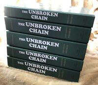The Unbroken Chain Complete Third Edition by Neil Rosenstein - Volumes 1-5