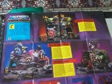 1985 HE-MAN MOTU Masters Of The Universe Mattel Poster 21? X 16?