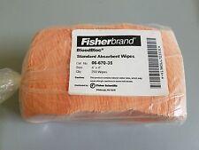 Fisherbrand BloodBloc Biohazard Wipes  250/Pack
