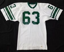 Vtg Original 1970s MICHIGAN STATE SPARTANS #63 Russell Athletic NCAA JERSEY L