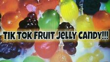 3x FULL BAGS FRUITY JELLIES TIK TOK CHALLENGE TREND fruit jelly 45 pcs Sweet pop