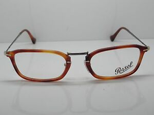 PERSOL 3044-V 96 REFLEX Light Havana Authentic 52mm Eyeglasses