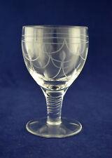 """Stuart Crystal """"TAMARA"""" Wine Glass – 10.5cms (4-1/8″) Tall"""