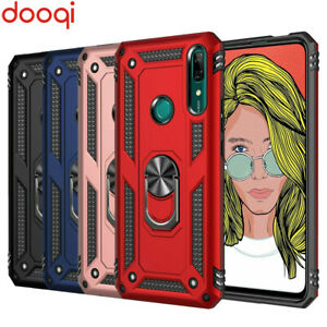 For Huawei Y9 2019 Luxury Shockproof Ultra Slim Military Armor Case Cover