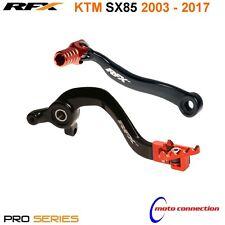 Nuevo KTM SX85 2005 RFX Palanca De Engranajes Y Parte Trasera Pedal De Freno Combo Negro Naranja