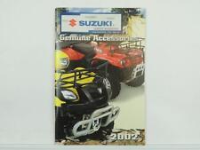 2002 Suzuki Genuine Accessories Catalog Quad Eiger LT-F500F L2988