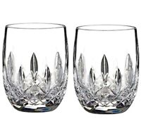 Waterford Lismore Classic Rounded Tumblers SET/2 Connoisseur Series 40003434 New