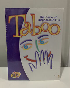 Taboo The Game Of Unspeakable Fun Hasbro 2000 - NEW - Factory Sealed