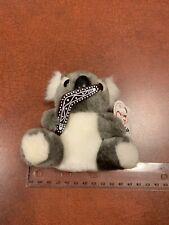 Oz Mate Vintage Stuffed Plush Toy Australian Baby Koala With Bommerang