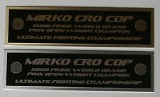 Mirko Cro Cop UFC nameplate for signed mma gloves photo case
