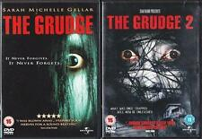 THE GRUDGE 1 & 2 [One,Two] Sam Raimi*Sarah Michelle Gellar Cult Horror DVD *EXC*