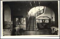 Wiesbaden Hessen Postkarte 1939 gelaufen Innenansicht Taunus Heim Chaussee Haus