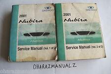 2001 DAEWOO NUBIRA Service Manuals