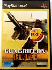 PlayStation 2 GUNGRIFFON BLAZE complet jeu video pour console Sony ps2 testé ok