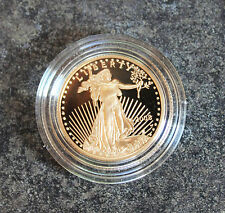 2008 Gold Eagle $10 Proof 1/4 Ounce Original Box & COA Low Mintage Semi Key Date