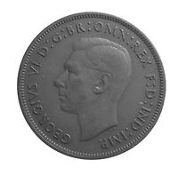 1937 ONE PENNY OF GEORGE VI.     #P23