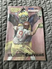 2004 Michigan Wolverines Football Guide UM vs Minnesota Gophers 10/9/2004 EX