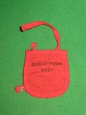 GI Joe Adventure Secret Agent Red Bullet Proof Vest  Hasbro