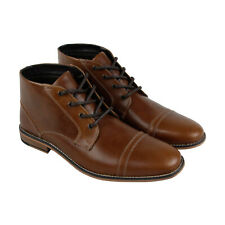 Kenneth Cole Reaction Kirve Boot A SMH7LE037 Mens Brown Leather Chukkas Boots 7