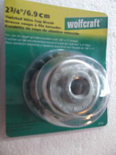 "2125 WOLFCRAFT 2-3/4"" TWISTED WIRE CUP BRUSH"
