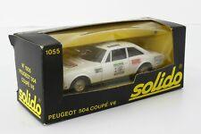 SOLIDO 1/43 PEUGEOT 504 COUPÉ V6 N° 1055