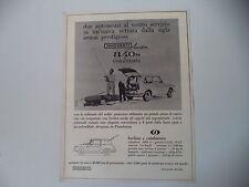 advertising Pubblicità 1963 INNOCENTI AUSTIN A40 A 40 S COMBINATA