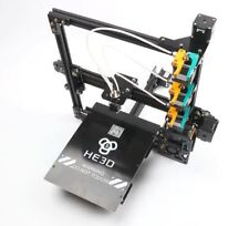 He3D Prusa I3 Large Tricolor Triple Extruder DIY 3D Printer Reprap + LCD Screen