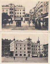 2x alte Ansichtskarte Gmunden ca 1935 Österreich