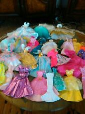 Lot of Barbie Doll Beautiful Dresses and Gowens