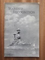 Warship Recognition - R.P Publications No. 44/4