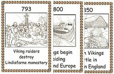 THE VIKINGS PICTORIAL TIMELINE – KS2 History Resource