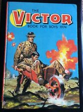 The Victor Book For Boys 1974 / Annual /Hardback