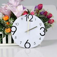 Acrylic 3d Wall Clock Large Number Diy Mirror Stickers Living Room Home Decor