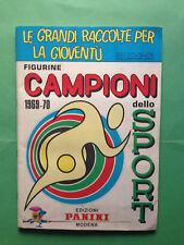 MANCOLISTE CAMPIONI DELLO SPORT PANINI 1969/70 RECUPERATE entra e leggi