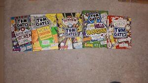 5 x Tom Gates Bücher