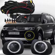 Bumper Driving Fog Light Kit For 10 ~14 Mitsubishi Pajero Sport/L200 Triton 2013