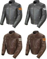 Joe Rocket Classic '92 Jacket - Leather Motorcycle Riding Street Cruiser Mens