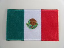 MEXICO PATCH Quality Embroidered Iron On MEXICAN National Flag Badge NEW