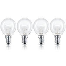 4 x 40w Philips Oven Lamp SES/E14 (Small Screw Cap) 300° Cooker Light Bulb